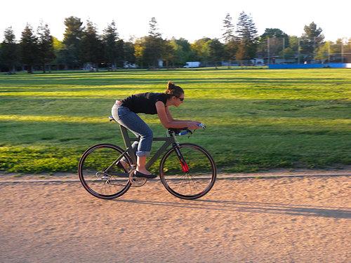 妻のために自転車を作った33