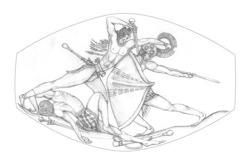 3500年前の石を磨いたら精細なギリシャ彫刻が現れる04