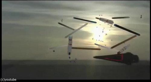 1561年の上空で謎の飛行物体が戦った記録06