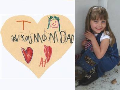 6歳で亡くなった女の子の家族に宛てた手紙00