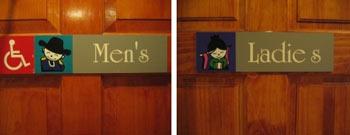 笑えるトイレ表示12