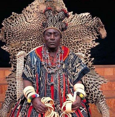 アフリカの部族の王や族長たち13