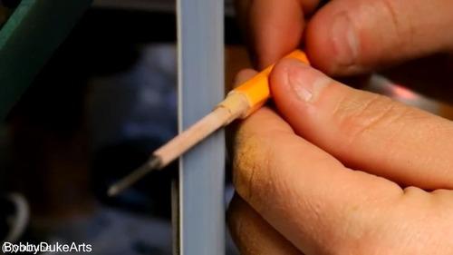 芸術家が本気で鉛筆を削るとこうなる05