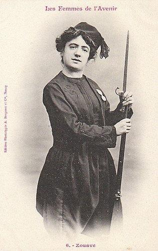 100年前に想像した未来の女性像06