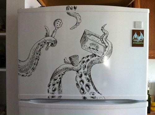 冷蔵庫アート08