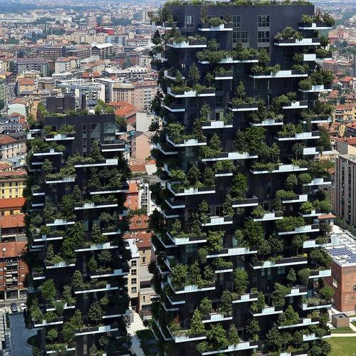ミラノの垂直の森01