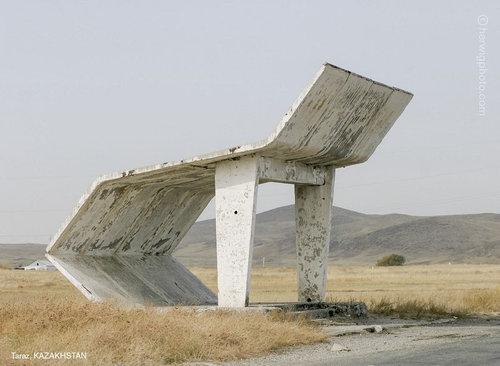 ソ連のバス停12