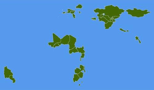 世界地図いろいろ14