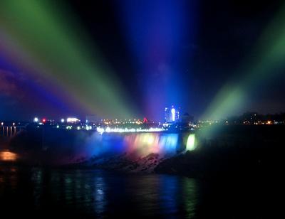 七色に輝く夜のナイアガラ07