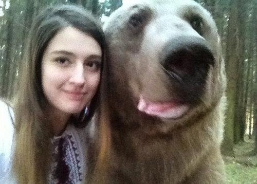 ロシアの女の子の自分撮り01