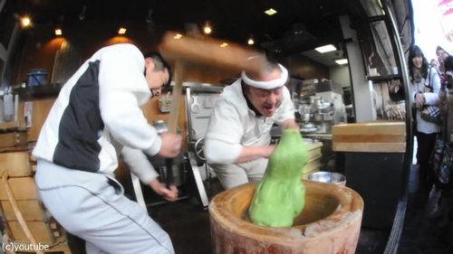 日本の餅つき01