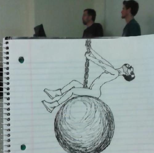 授業中に先生の似顔絵を描き続けた結果07
