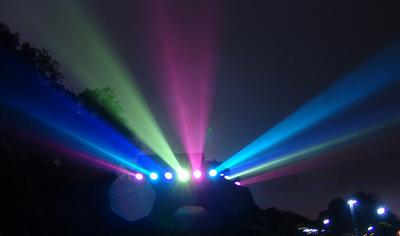 七色に輝く夜のナイアガラ08