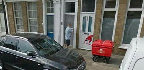 ロンドンで見かけたドア04