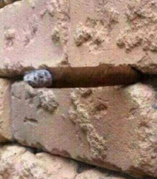 「壁に何が見える?」02