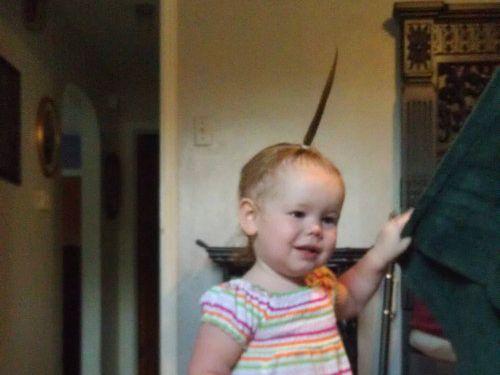 娘のヘアスタイル02
