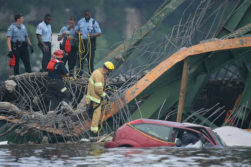 ミネソタの橋の事故07