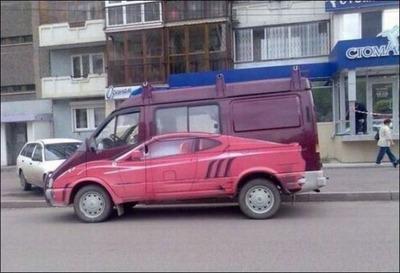 変な車01