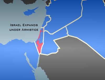 Israel Expands under Armistice