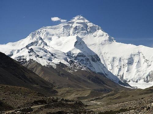 エベレストの頂上00