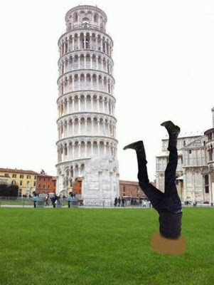 ピサの斜塔の修正写真08