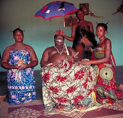 アフリカの部族の王や族長たち16