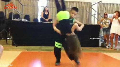 サルサを踊る子供05