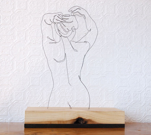 針金アート05