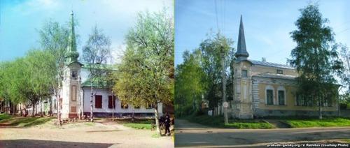 ロシア帝国時代の写真と現在13
