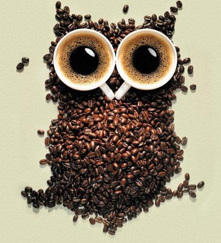 コーヒーでアート03