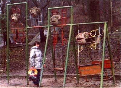 ロシア遊具16