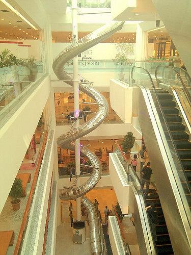 マレーシアのショッピングモール02
