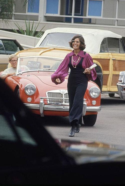 40年前のアメリカの女子高生ファッション08