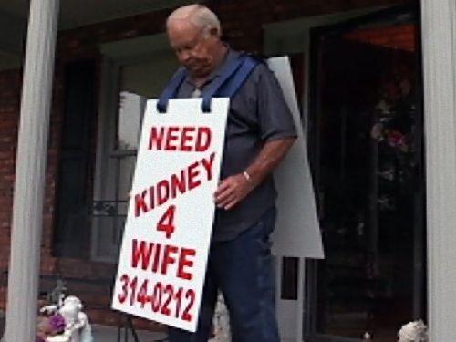 愛する妻のために臓器のドナーを探す夫01
