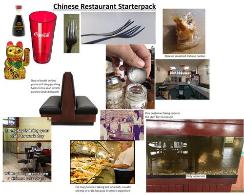 アメリカの中華料理屋01