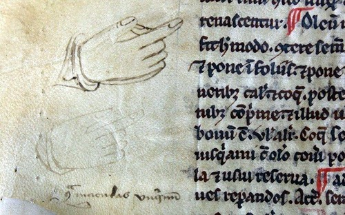ヨーロッパ中世の書物の注記01
