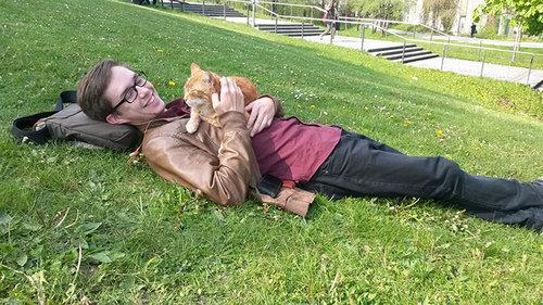 アウグスブルク大学の猫09