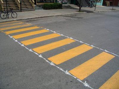 アートな横断歩道01