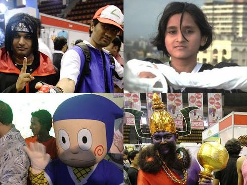 インドのコスプレ00