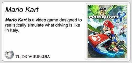 マリオカートの説明とイタリア01