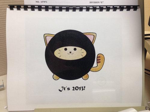 猫のカレンダー00