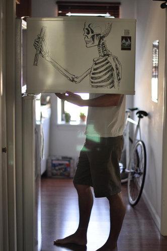 冷蔵庫アート09