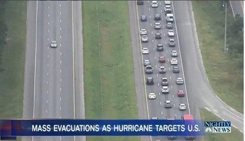 大型ハリケーン「マシュー」大規模な避難01