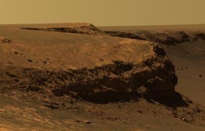 火星から見た日没の写真が話題に03