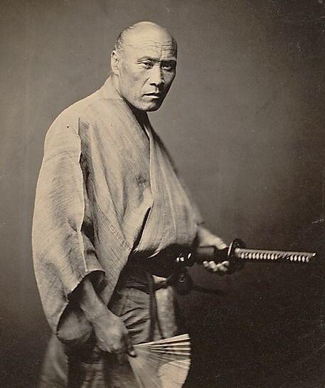 外国人が感激…幕末の日本で撮影された『サムライ』の写真(1866年 ...