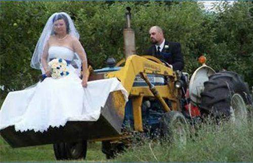独創的な結婚式20