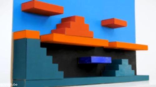 ペットのために作ったマリオ風迷路03