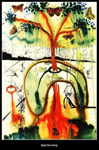 ダリが描いた不思議の国のアリス08