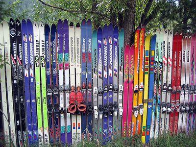 いらなくなったスキー板を活用する方法