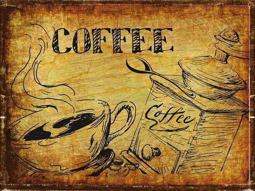 影が出来ているカフェ